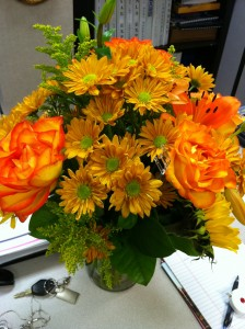 Bouquet from Texas Association of Builders