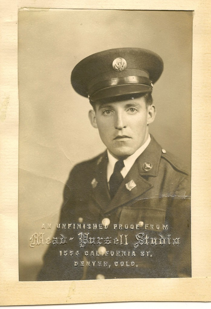 R.J. Proctor, Army Air Force, Thank-you Daddy