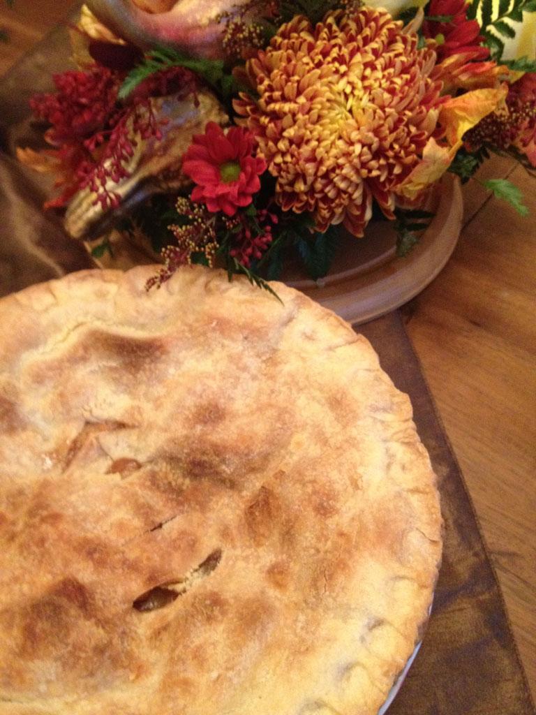 Apple Pie | Yellow Roses | Chrysanthemums