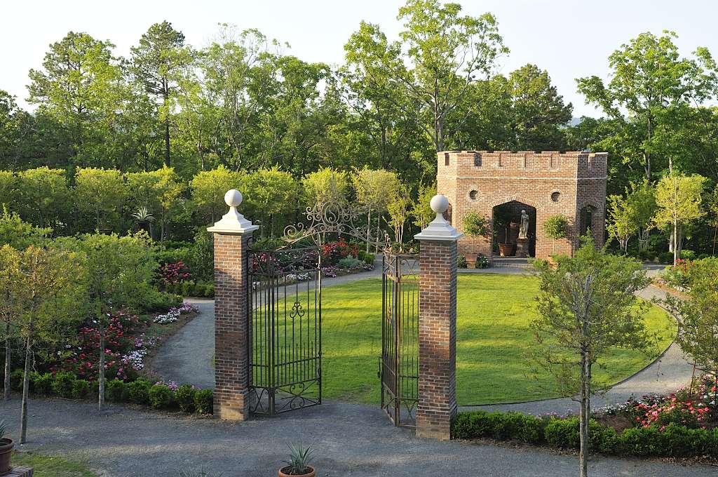 The Rose Garden at P. Allen Smith's
