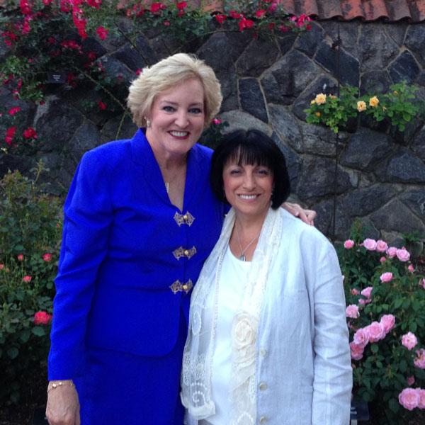 Susan Fox | Pat Shanley at The Biltmore Rose Trials