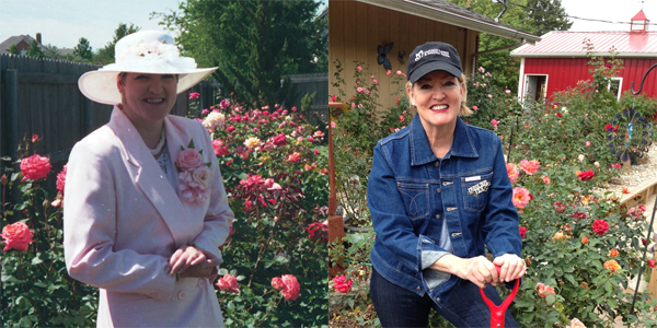 Transition From Gentrified Urban Rosarian To Rural Rose Gardener