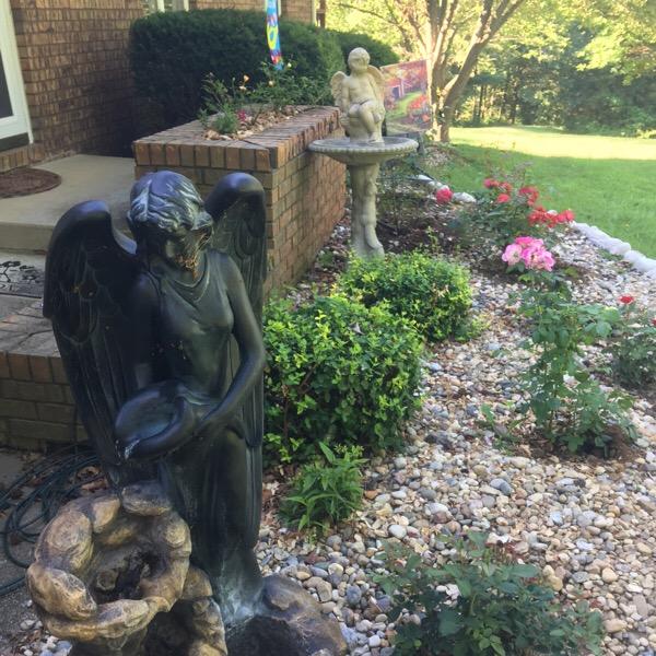 Angel Fountain | Angel Bird Bath