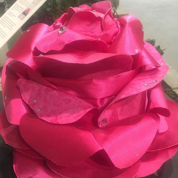 Time: Space   Motion   Illusion Garden 03 Fiber Rose